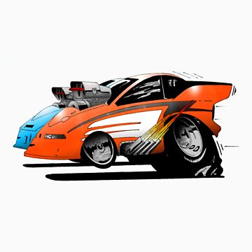 Funny Car Drags by Geetee