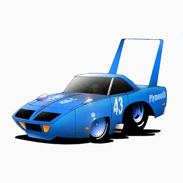 Plymouth Road Runner Superbird by Geetee