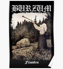Burzum - Filosofem Cover ver2 Poster