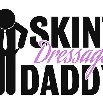 Skint Dressage Daddy logo by DressageDaddy