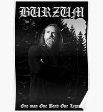Burzum - Varg Vikernes  Poster