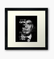 A man who doesn't exist Framed Print