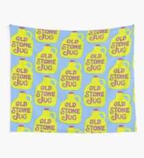 Old Stone Jug Wall Tapestry