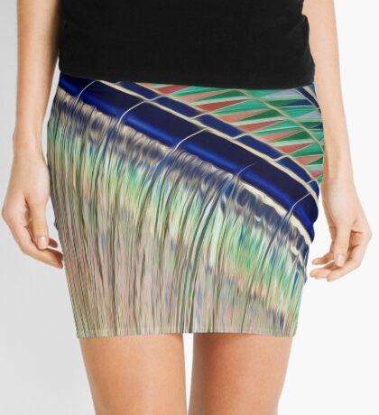 Liquid Colour Mini Skirt
