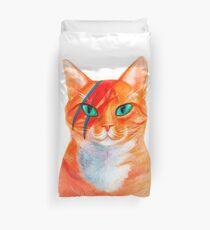 David Bowie - Cat Rebel Duvet Cover
