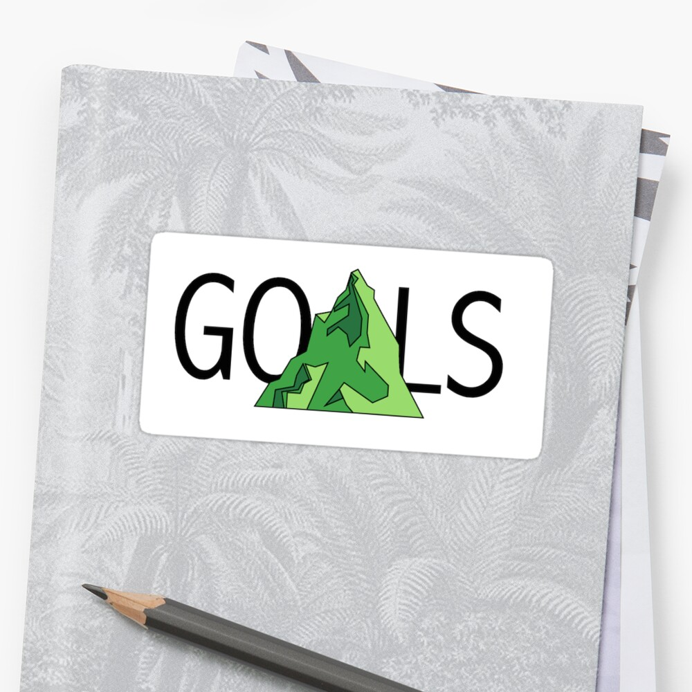 GOALS Logo with Green Mountain by hennejac