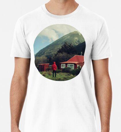 Rote Stalkerhaube! Premium T-Shirt