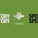 Spendy Spendy Mug - Gullible Green by DressageDaddy