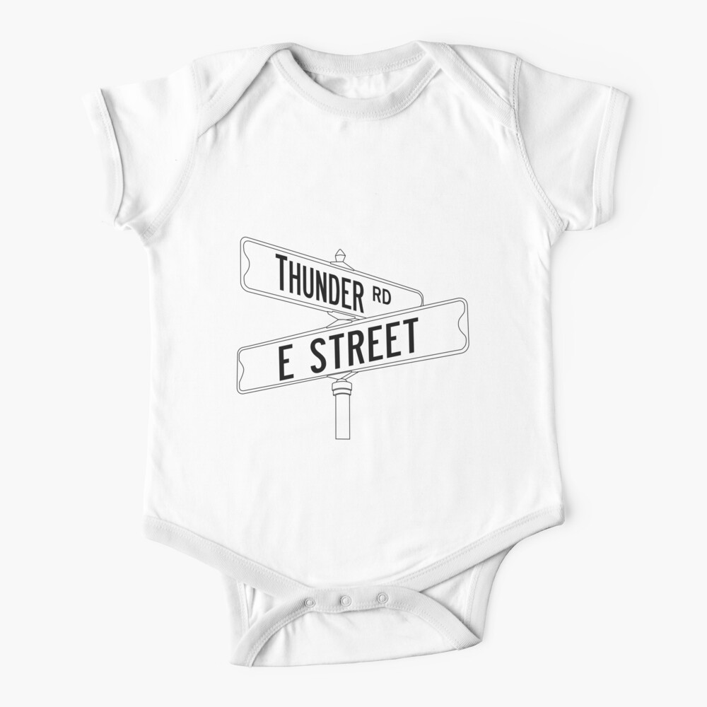 Bruce Springsteen and the E Street Band - Thunder Road Baby One-Piece