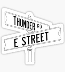 Bruce Springsteen and the E Street Band - Thunder Road Sticker