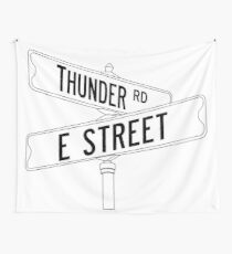 Bruce Springsteen and the E Street Band - Thunder Road Wall Tapestry