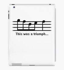 This was a Triumph iPad Case/Skin