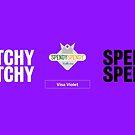 Spendy Spendy Mug - Visa Violet by DressageDaddy