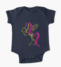 MLP Fluttershy Minimal Abstract Drawing! Kids Clothes