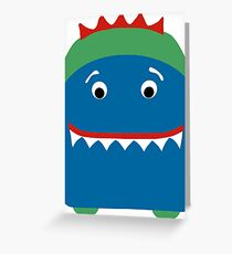 Little Monster Greeting Card