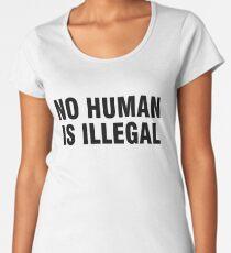 No human is illegal Women's Premium T-Shirt
