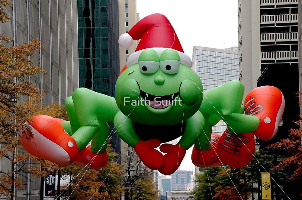 Atlanta Christmas Parade  by Faith Swift
