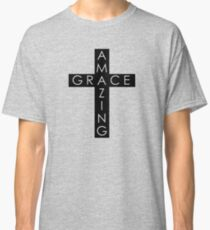 Amazing Grace Cross Classic T-Shirt