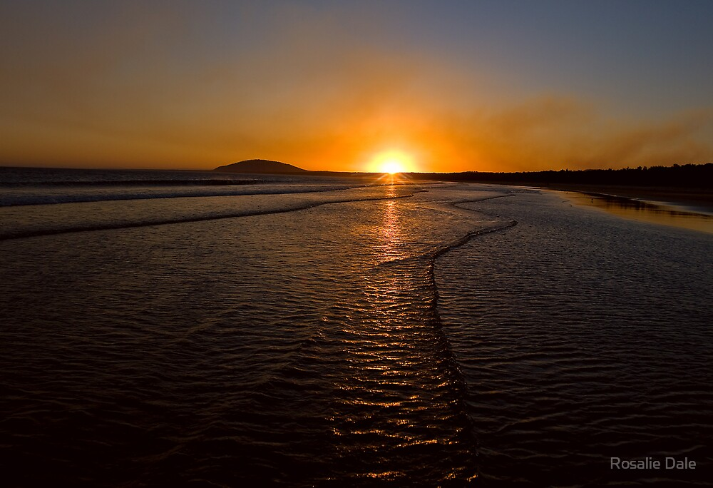 Gerroa Sunset ~ No 1 by Rosalie Dale