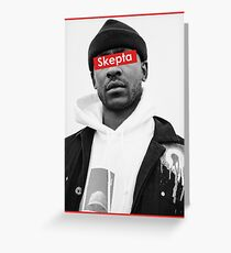 Rap Greats - Skepta Greeting Card