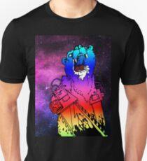 Chainsaw Rainbow Bhurrr Unisex T-Shirt