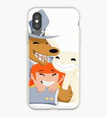 Insert clever and gay title iPhone Case