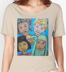 LOVE is All of Us Women's Relaxed Fit T-Shirt
