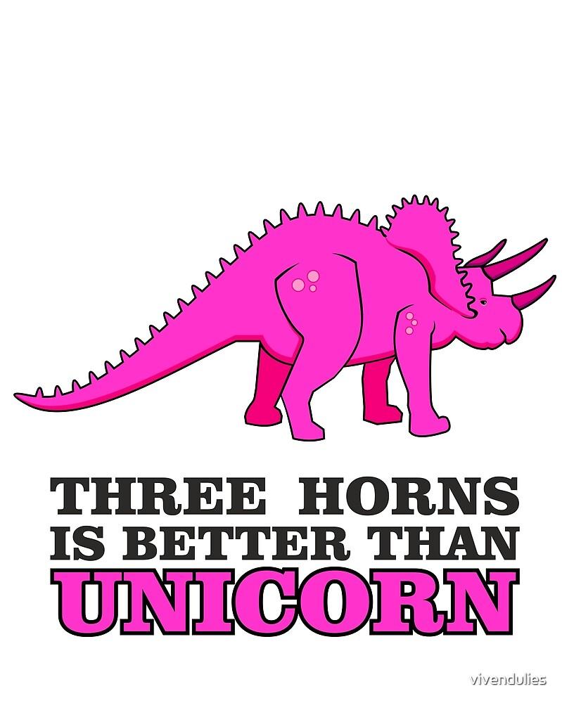 Triceratops Dino - Three Horns better than Unicorn VRS2 by vivendulies