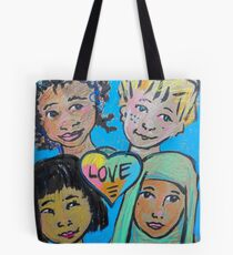 LOVE is All of Us Tote Bag