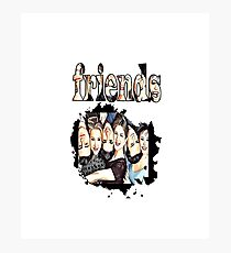 friends tshirt Top T-Shirt Gift for Sisters Brothers and Niece Nephew Photographic Print