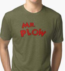Mr. Plow Tri-blend T-Shirt