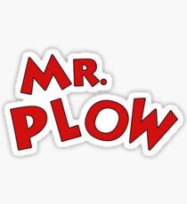 Mr. Plow Sticker