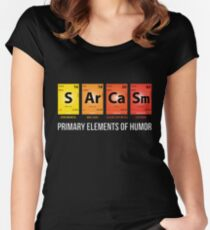 Sarcasm Mendeleev Humor Periodic Elements Women's Fitted Scoop T-Shirt
