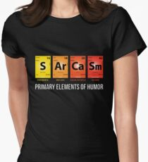 Sarcasm Mendeleev Humor Periodic Elements Women's Fitted T-Shirt