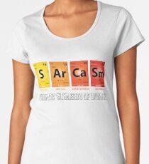 Sarcasm Mendeleev Humor Periodic Elements Women's Premium T-Shirt
