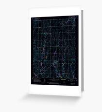 USGS TOPO Map Kansas KS Garden Plain 511392 1965 24000 Inverted Greeting Card