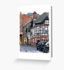 Oxford  Greeting Card