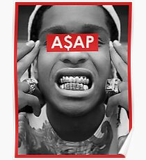 Rap Greats - A$AP Poster