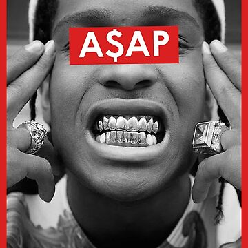 Rap Greats - A$AP by BlueWallDesigns