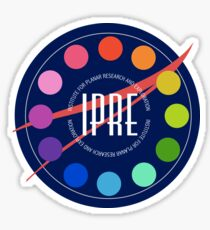 Institute for Planar Research and Exploration Badge Sticker