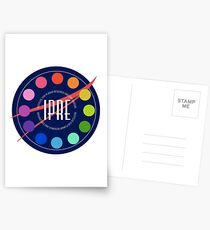 Institute for Planar Research and Exploration Badge Postcards