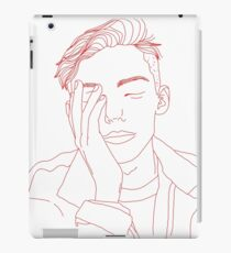 Guy liner iPad Case/Skin