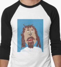 Jésus T-shirt baseball manches ¾