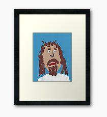 Jésus Impression encadrée