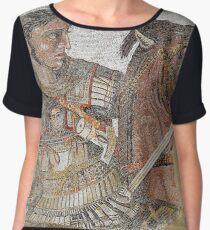 Alexander The Great Ancient Greece  Chiffon Top