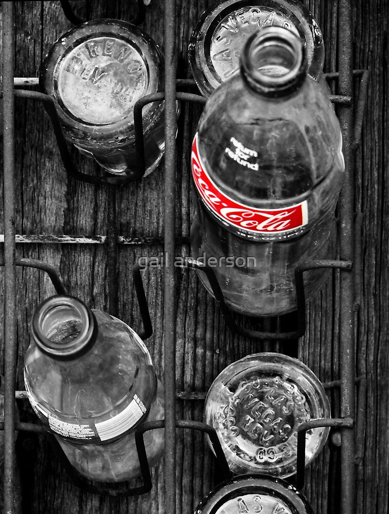 i'd like to buy the world a coke, and keep it company by gail anderson