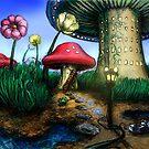 The Mushroom kingdom by Matt Morrow