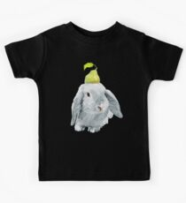 Bunny and a pear Kids Clothes