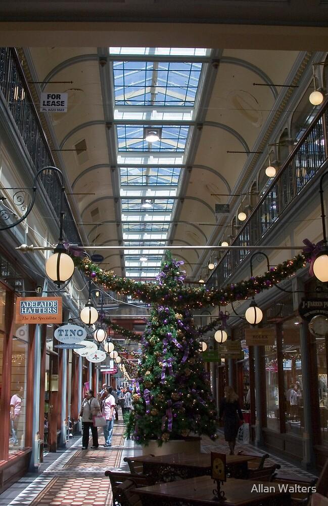 Shopping Arcade by Allan Walters