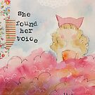 She Found Her Voice by Julie Nutting